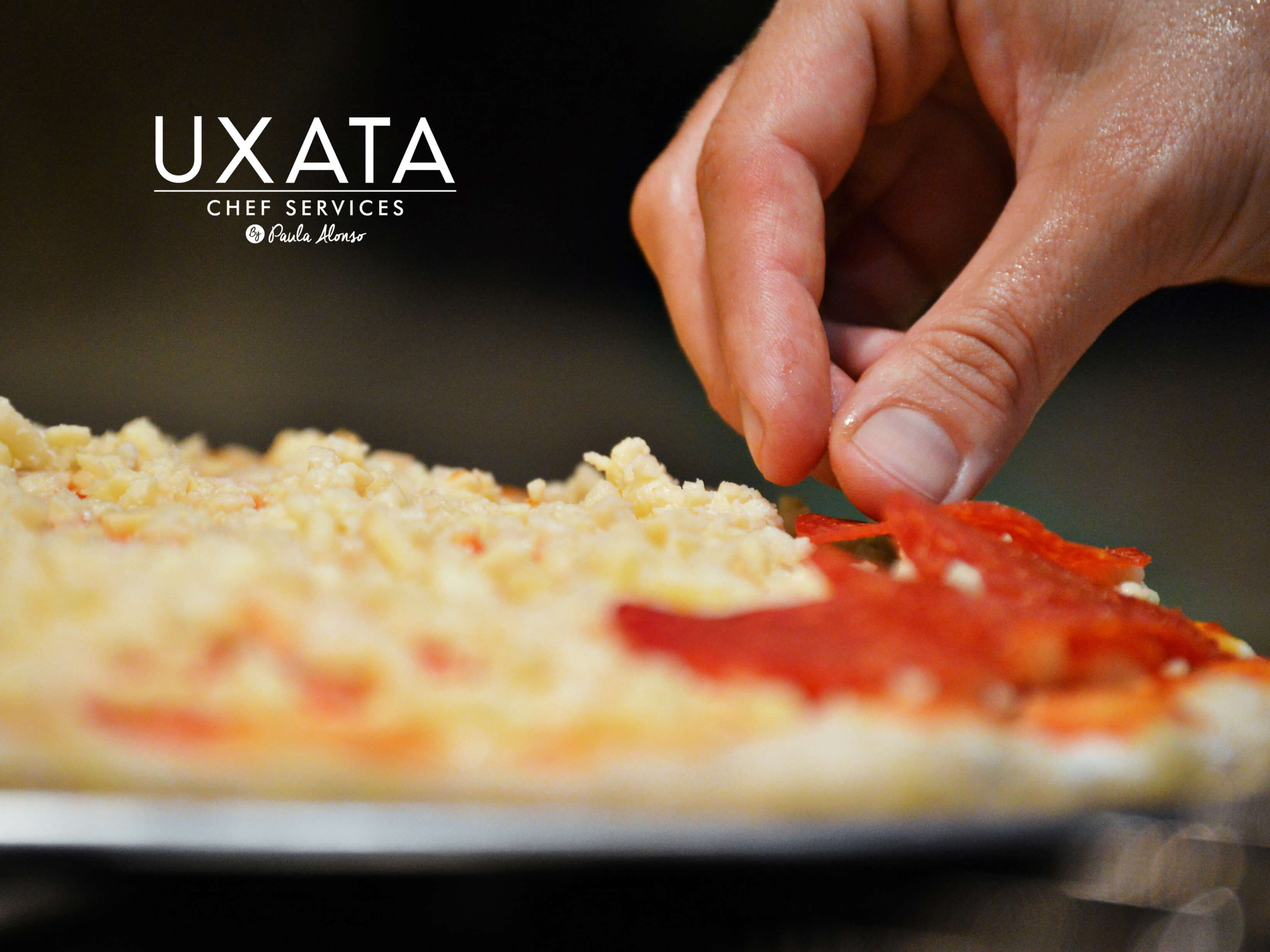 UXATA Private Chef Services pizza topping